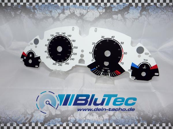 Wwwdein Tachode Speedometer Dials For Bmw E38 E39 E53 White Vs Black